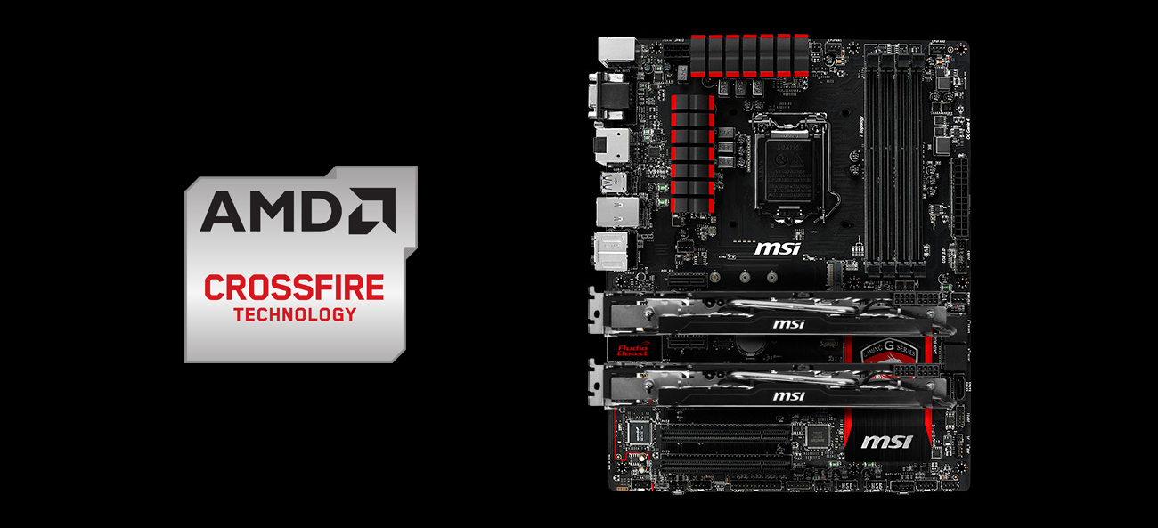 MSI H97 GAMING 3 AMD Crossfire