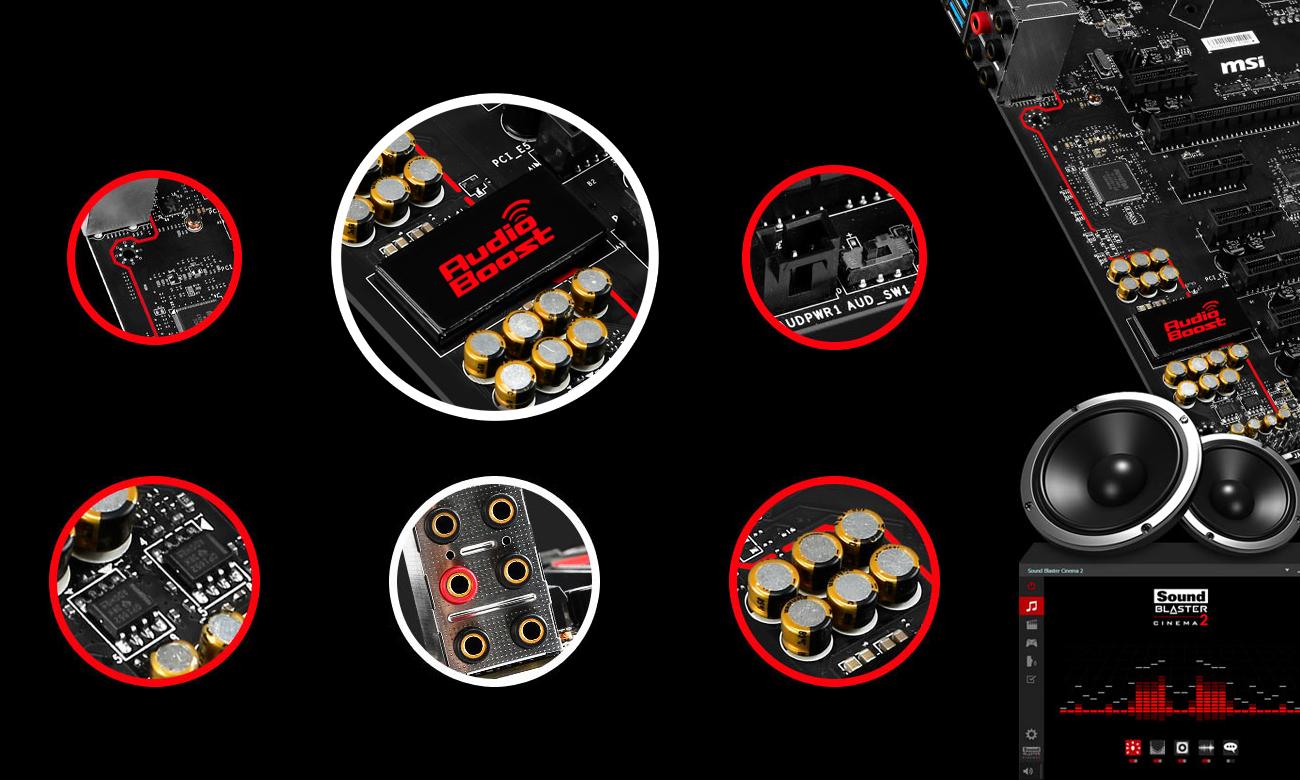 MSI H97 GAMING 3 Audio Boost 2
