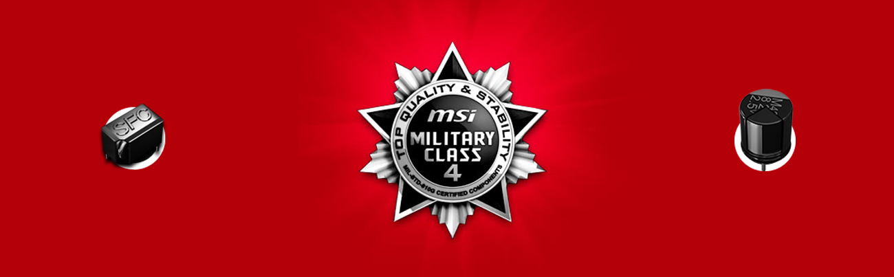 MSI H97 GAMING 3 Military Class 4