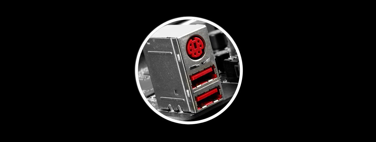 MSI H97 GAMING 3 Gaming Device Port