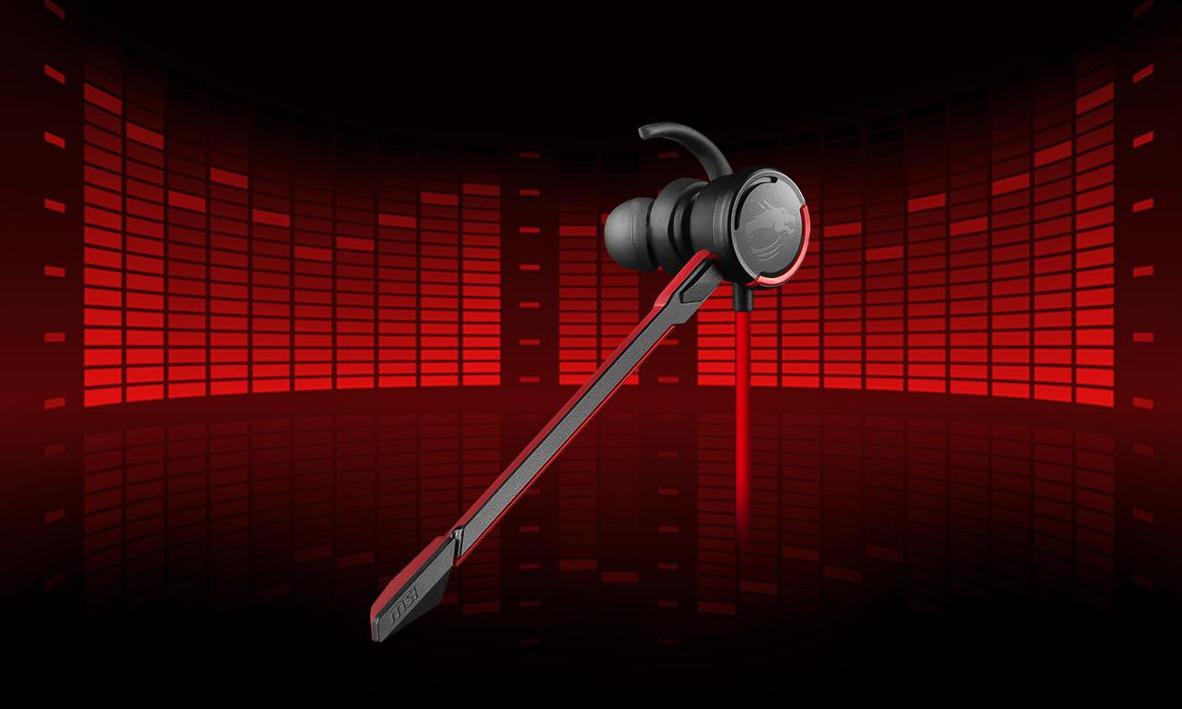 MSI Immerse GH10 słuchawki przewodowe dla graczy