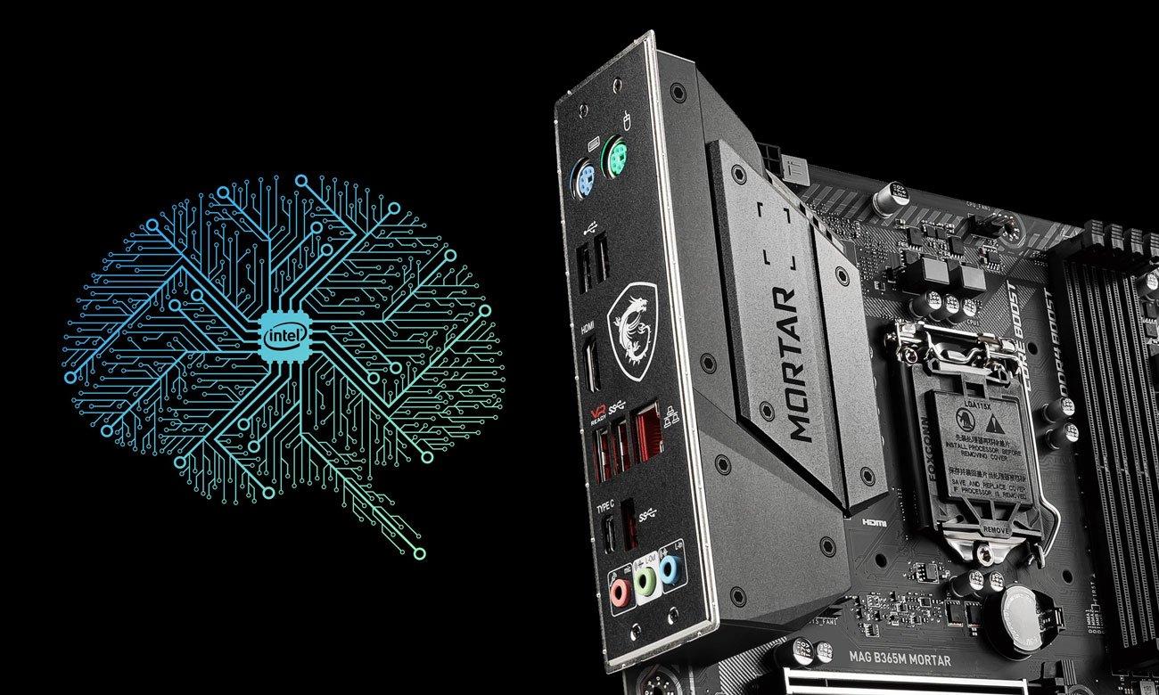 MSI MAG B365M MORTAR - Sieć Intel LAN