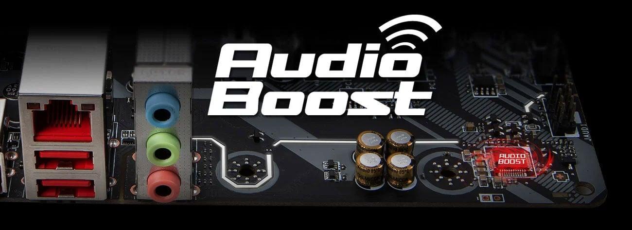 System dźwięku Audio Boost