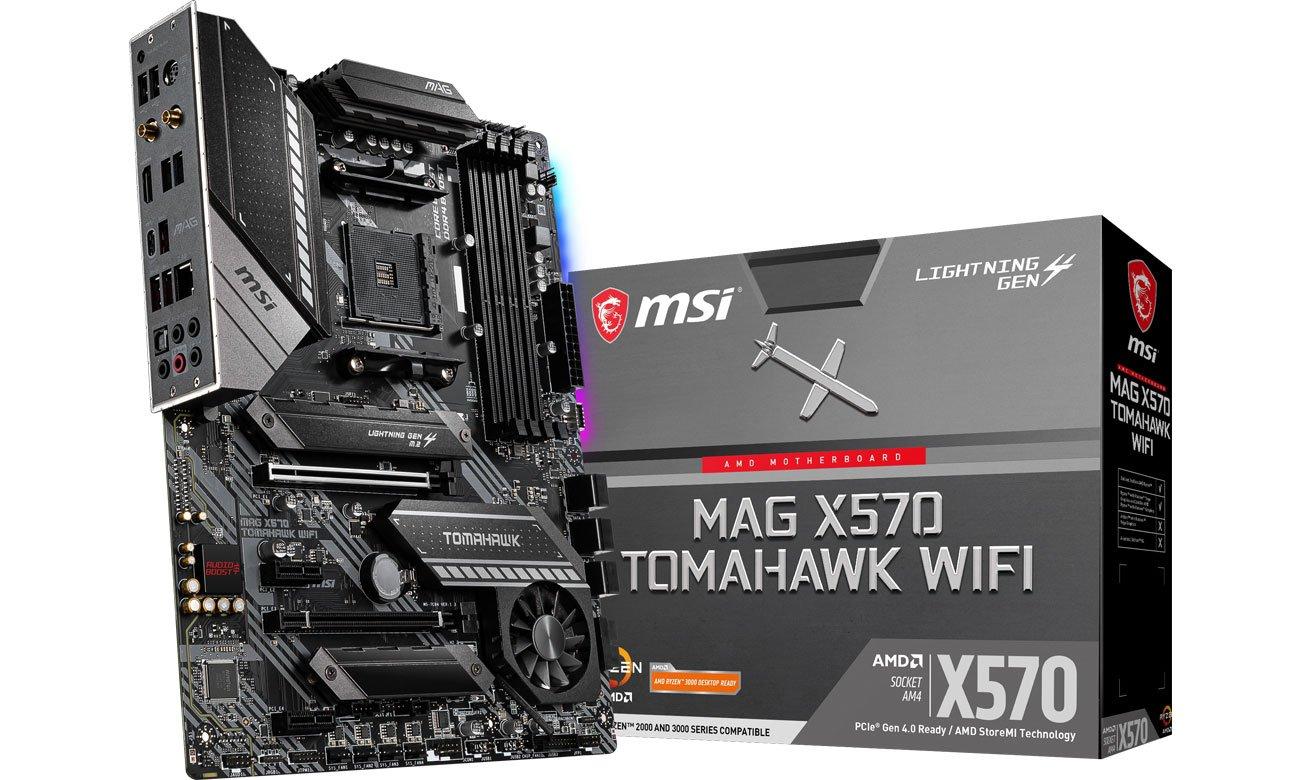 Płyta główna Socket AM4 MSI MAG X570 TOMAHAWK WIFI
