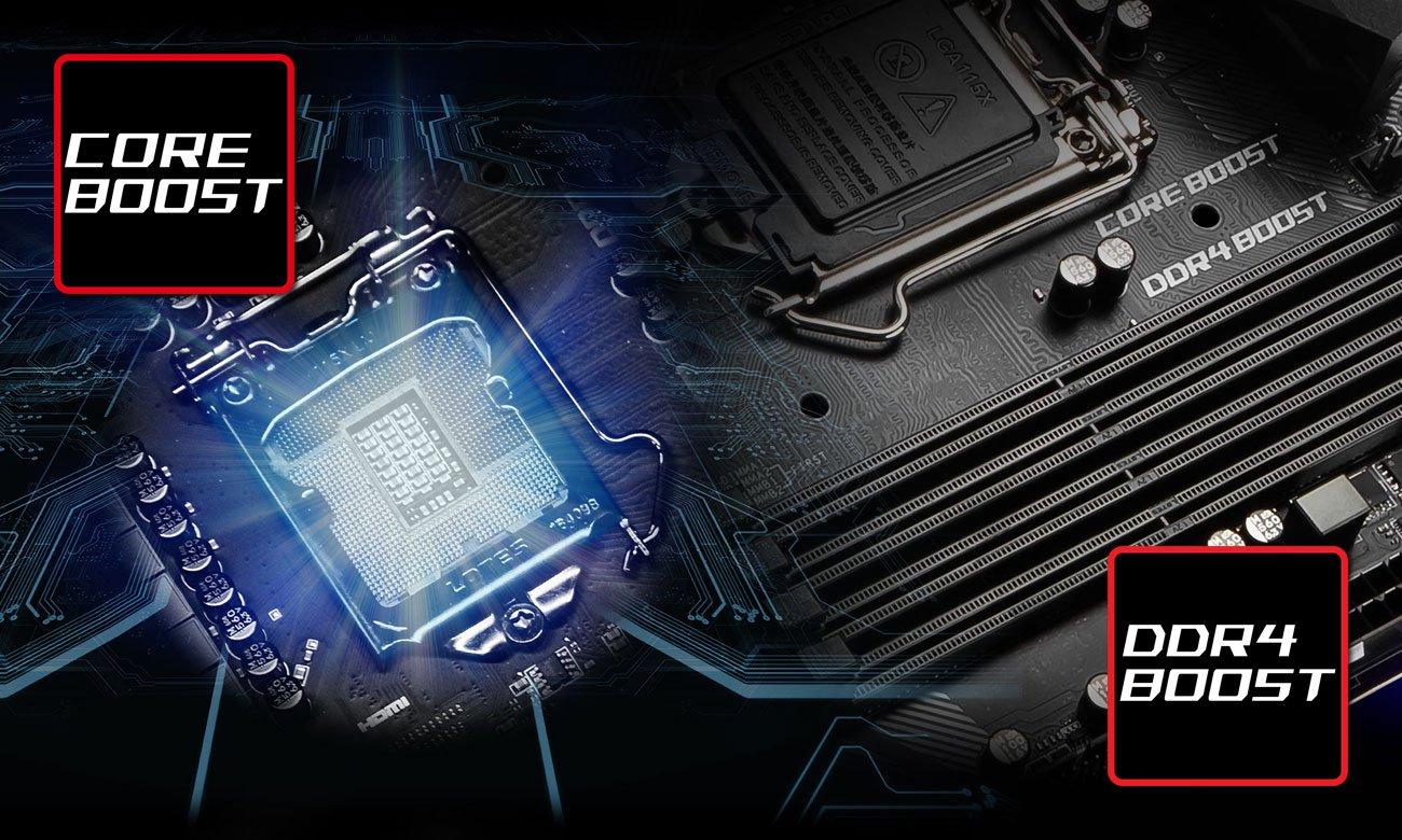 MSI MAG Z390 TOMAHAWK Zoptymalizowana wydajność