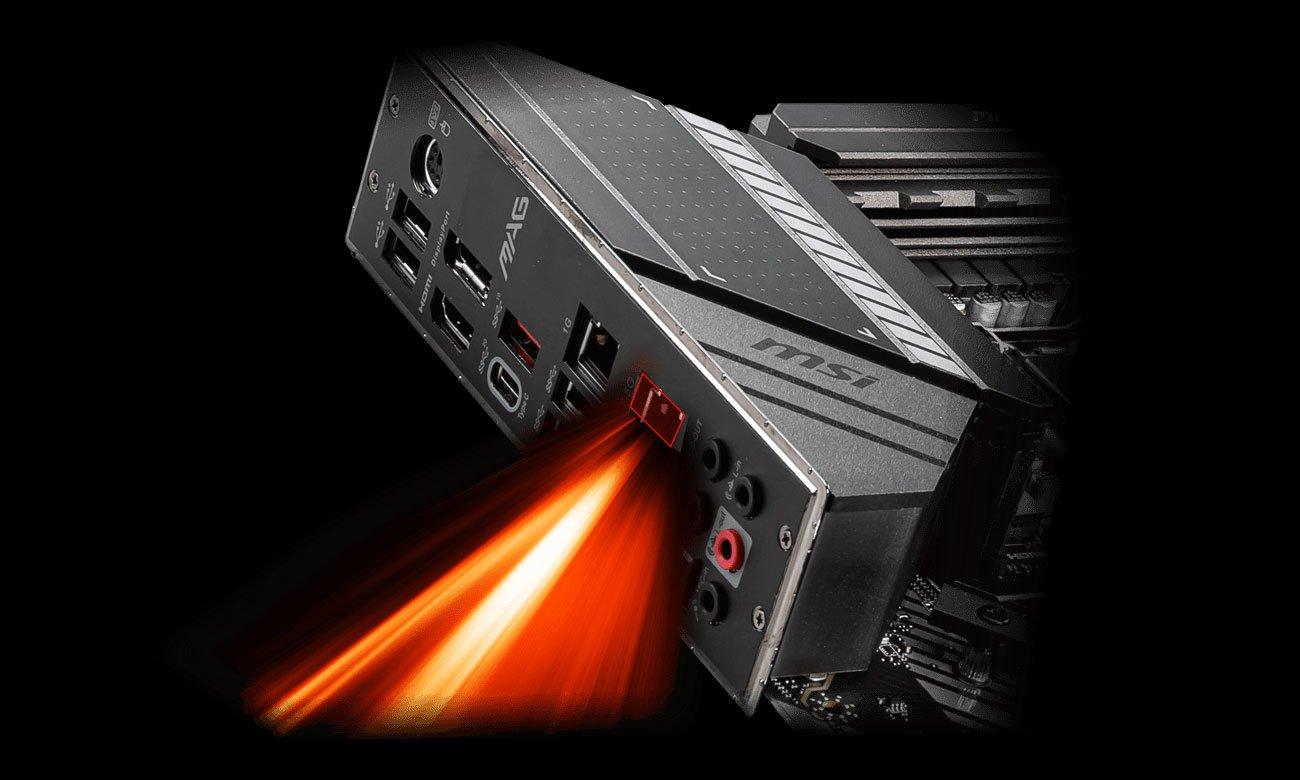 MSI MAG Z490 TOMAHAWK - Łączność LAN