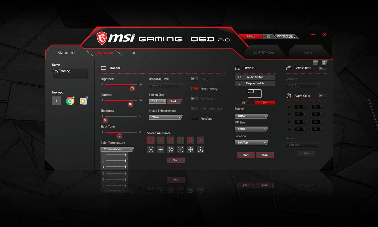 Monitor dla graczy MSI Optix MAG272C Curved