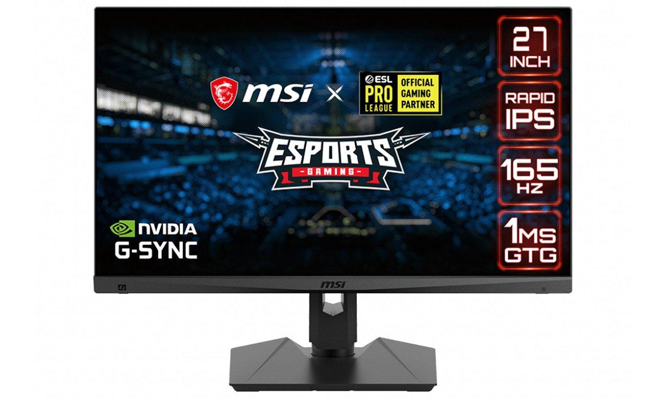 Monitor dla graczy MSI Optix MAG274QRF