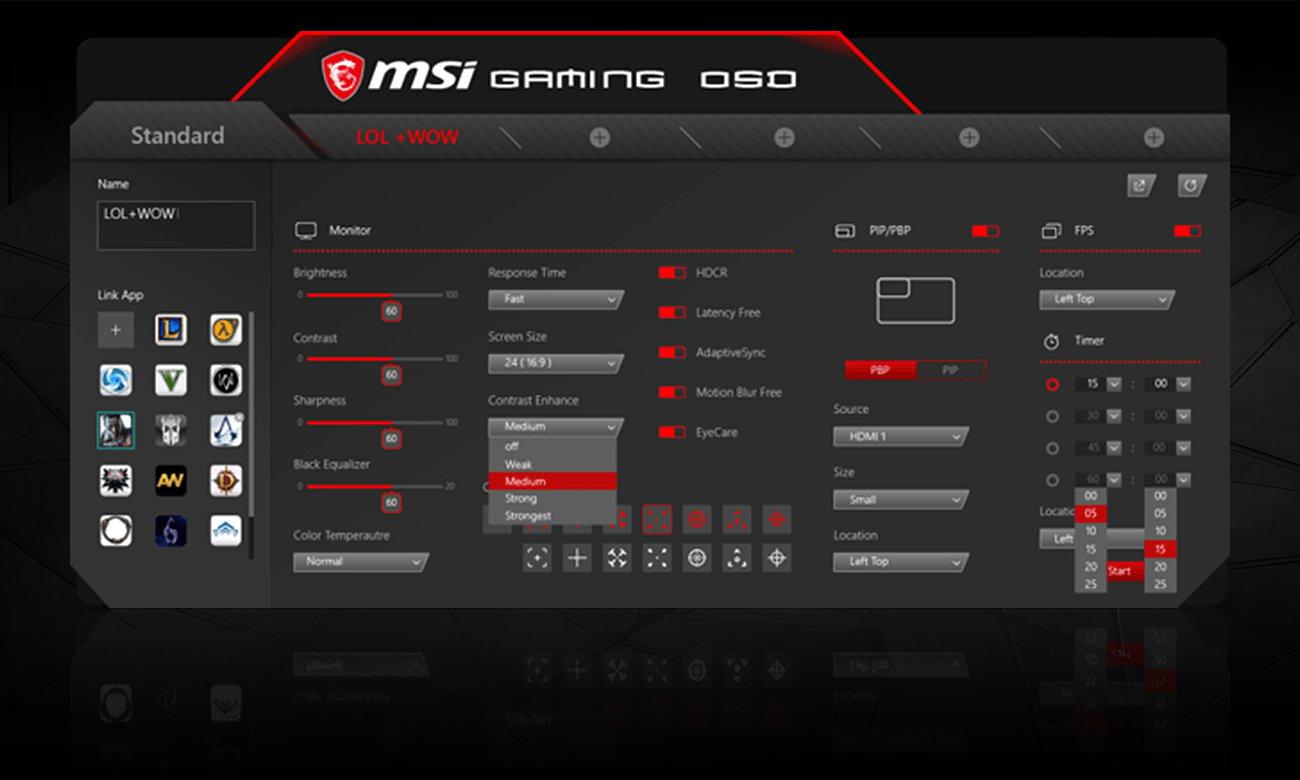 Monitor dla graczy MSI Optix MAG321CR
