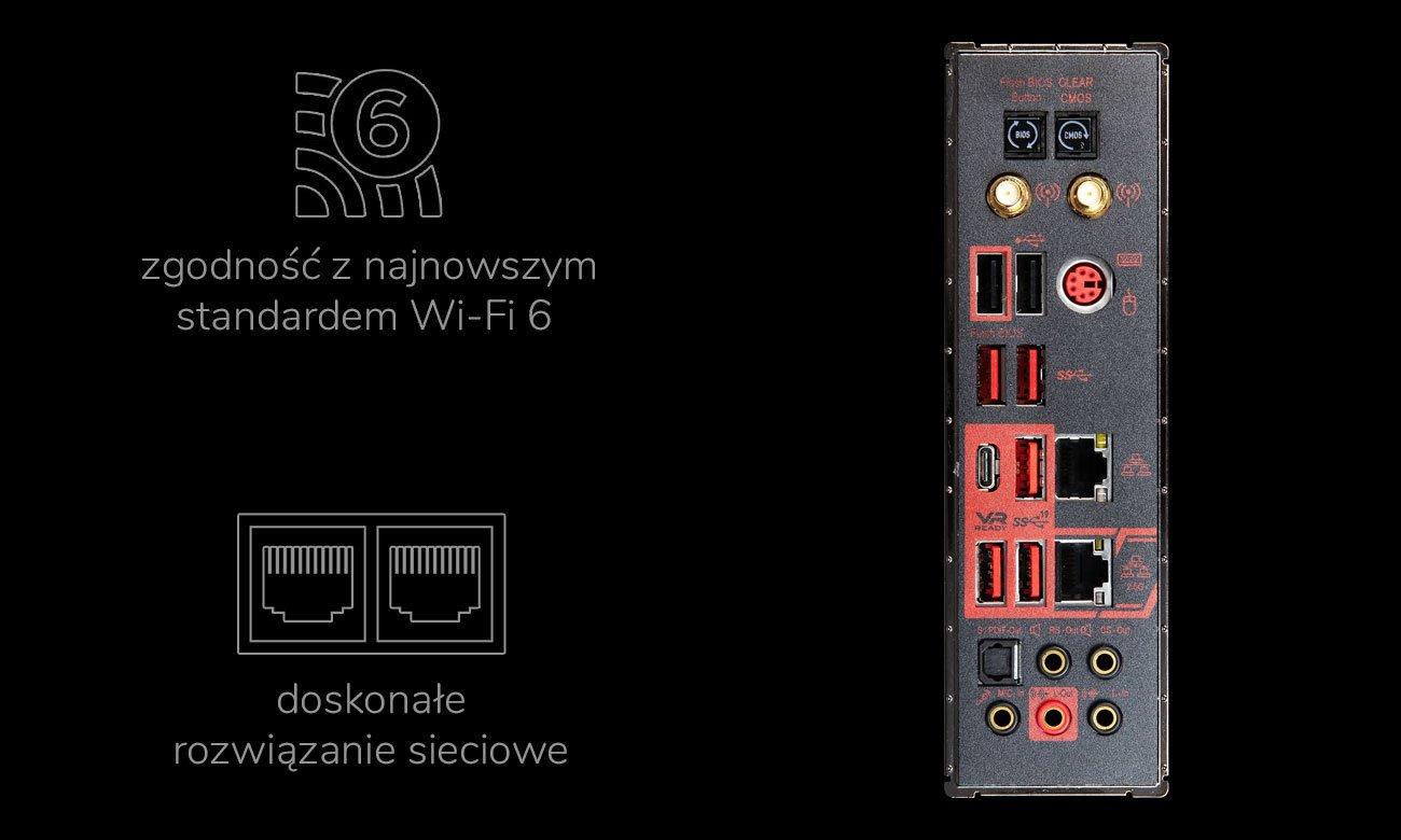 MSI MEG X570 ACE - Łączność z siecią