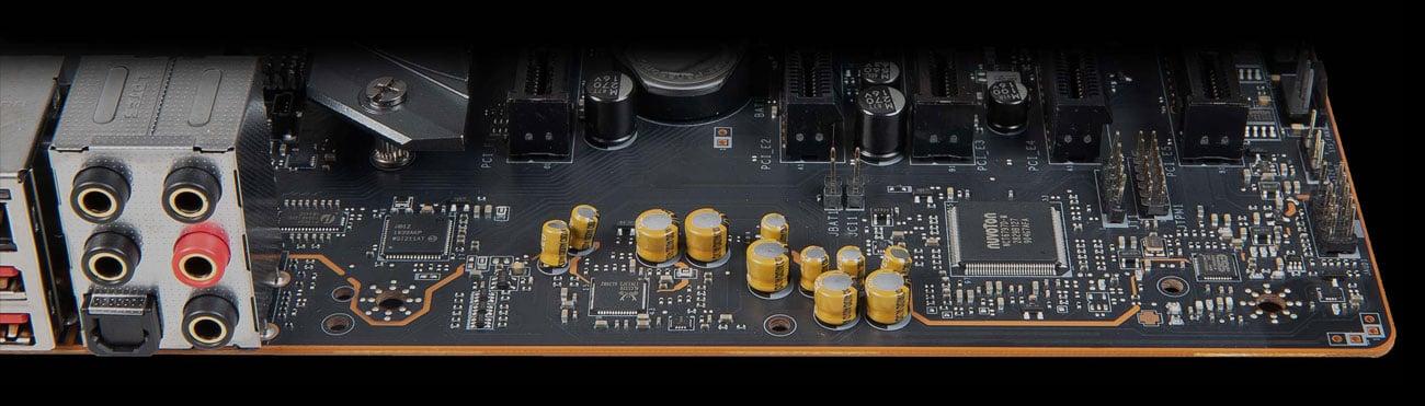 MSI MEG X570 UNIFY - Audio