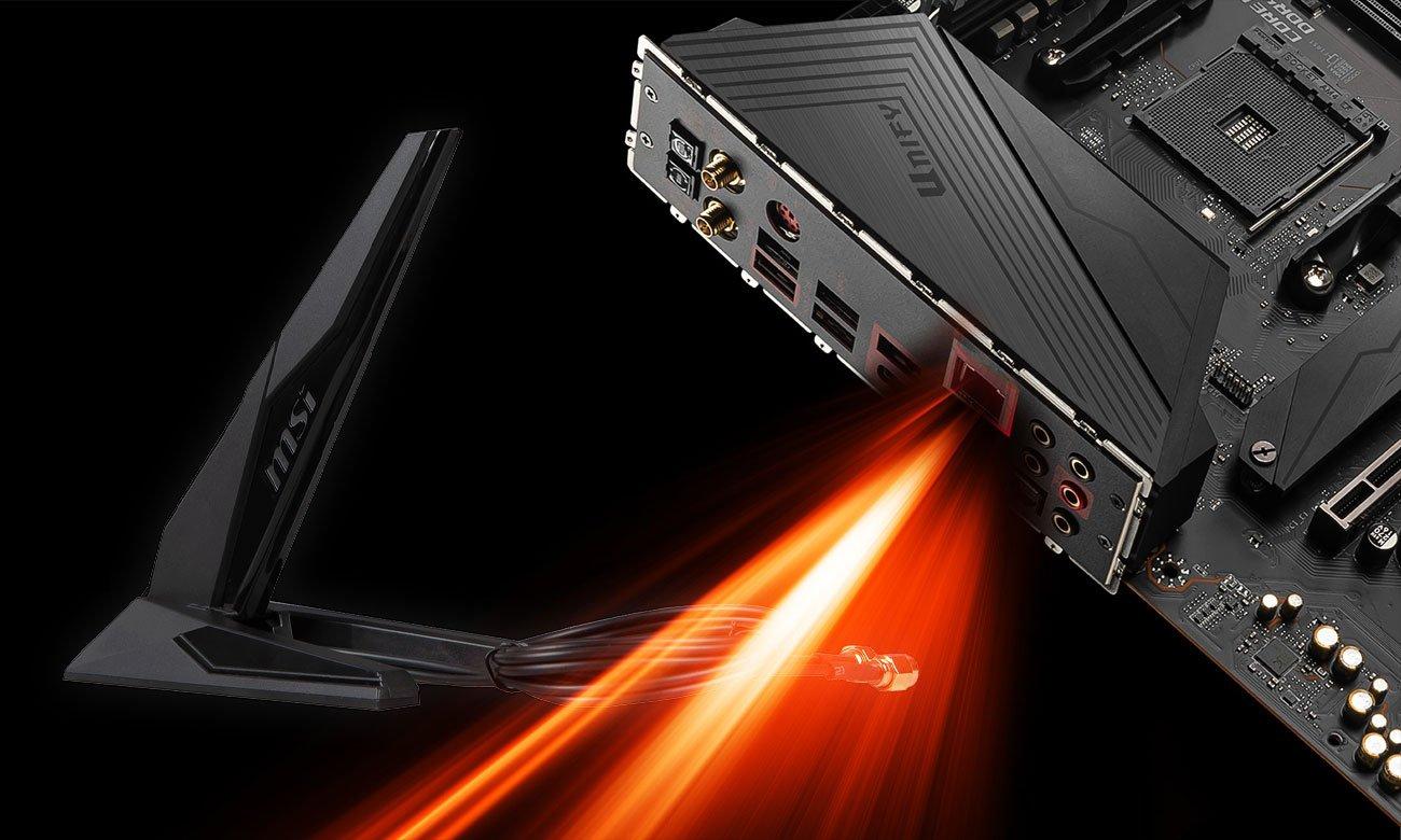 MSI MEG X570 UNIFY - LAN, WiFi