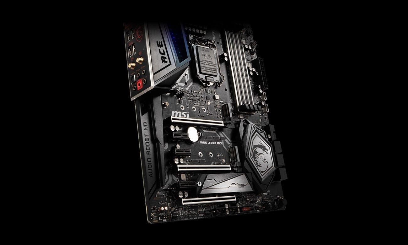 MSI MEG Z390 ACE Najwyższa jakość dźwięku