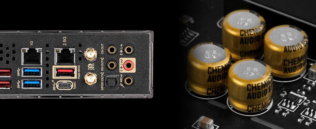 MSI MEG Z490 ACE - Układ audio