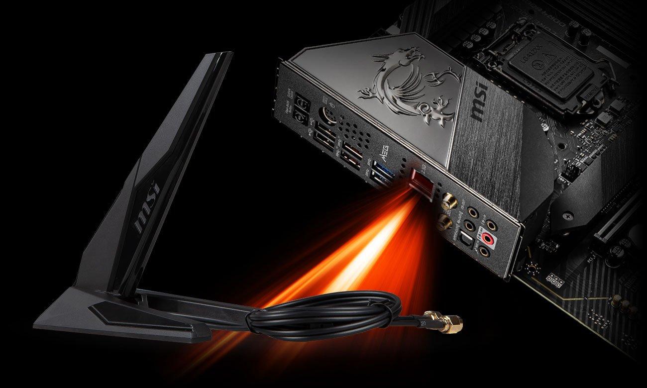 MSI MEG Z490 UNIFY - Sieć LAN, Wi-Fi