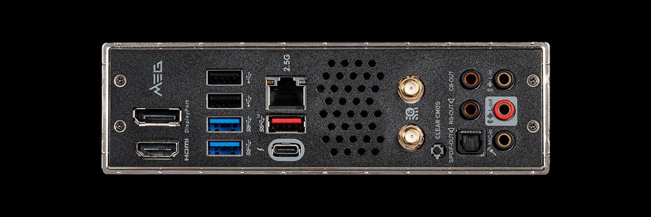 MSI MEG Z490I UNIFY - Złącza audio