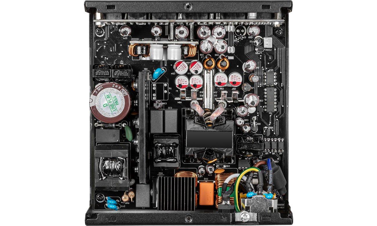 MSI MPG A650GF 650W - Konstrukcja