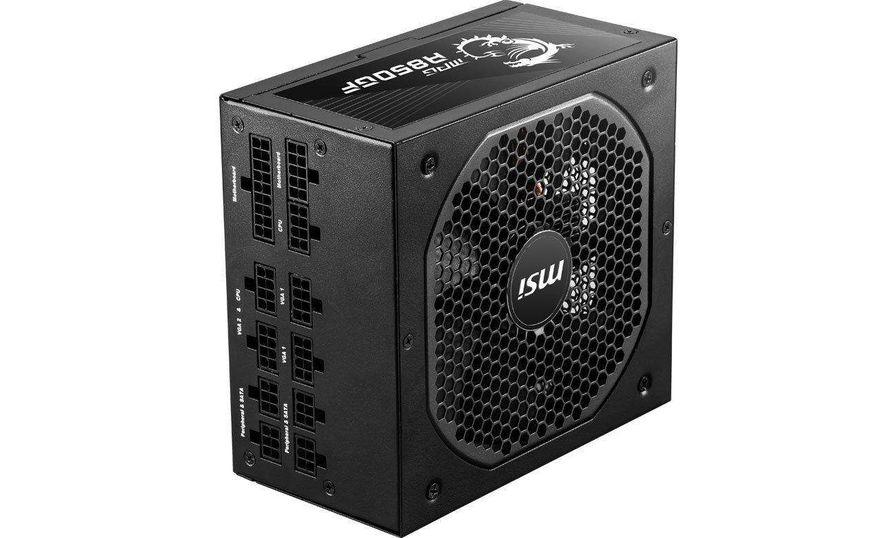 MSI MPG A850GF 850W - Chłodzenie
