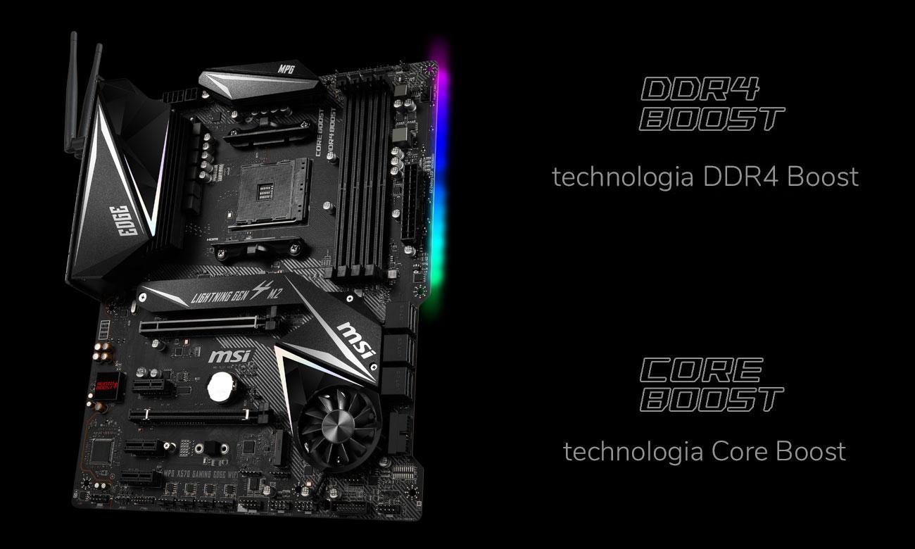 MSI MPG X570 GAMING EDGE WIFI - Wydajność