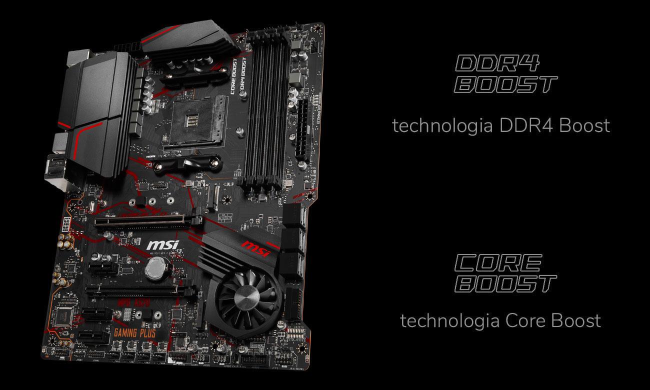 MSI MPG X570 GAMING PLUS - Wydajność