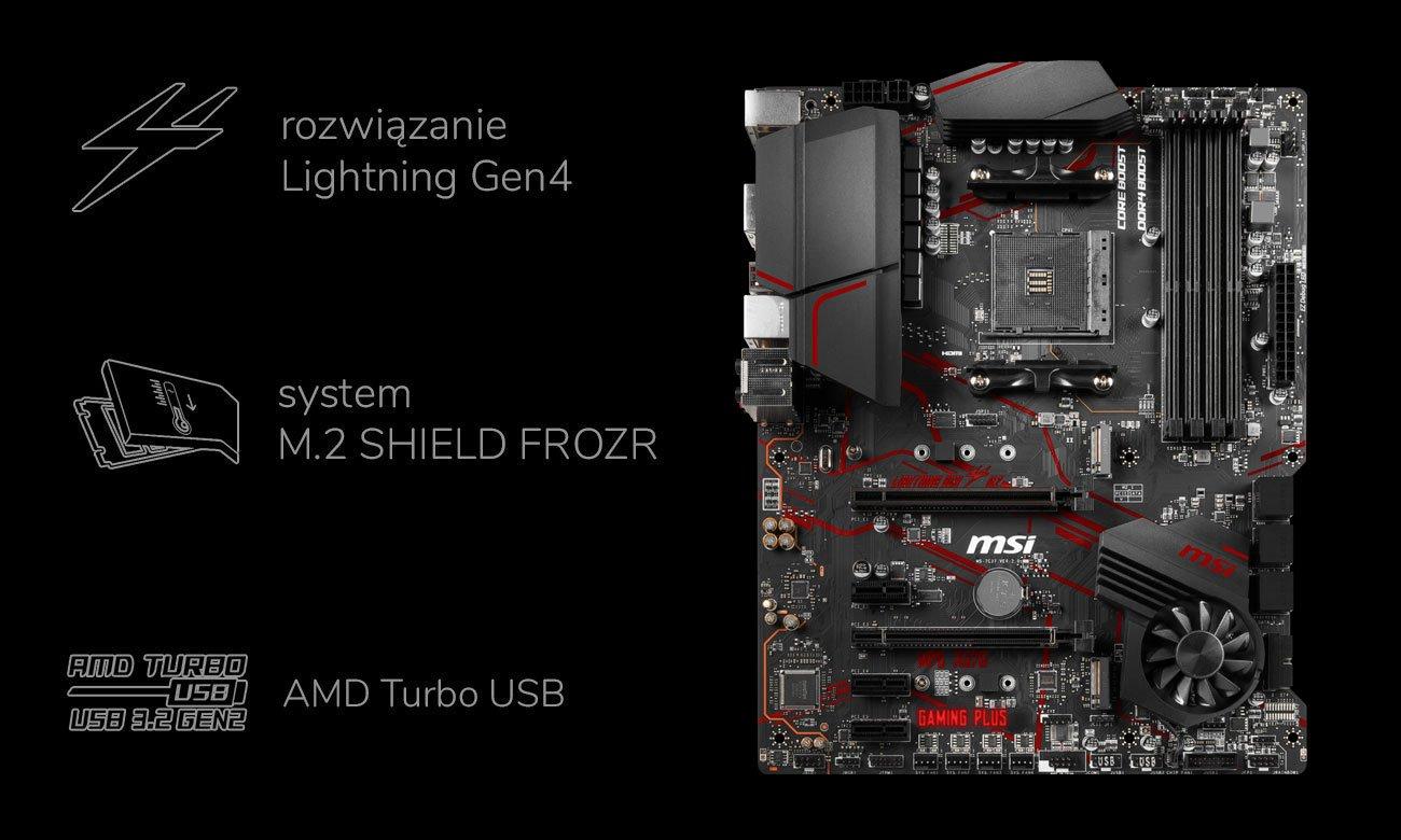 MSI MPG X570 GAMING PLUS - Obsługa pamięci
