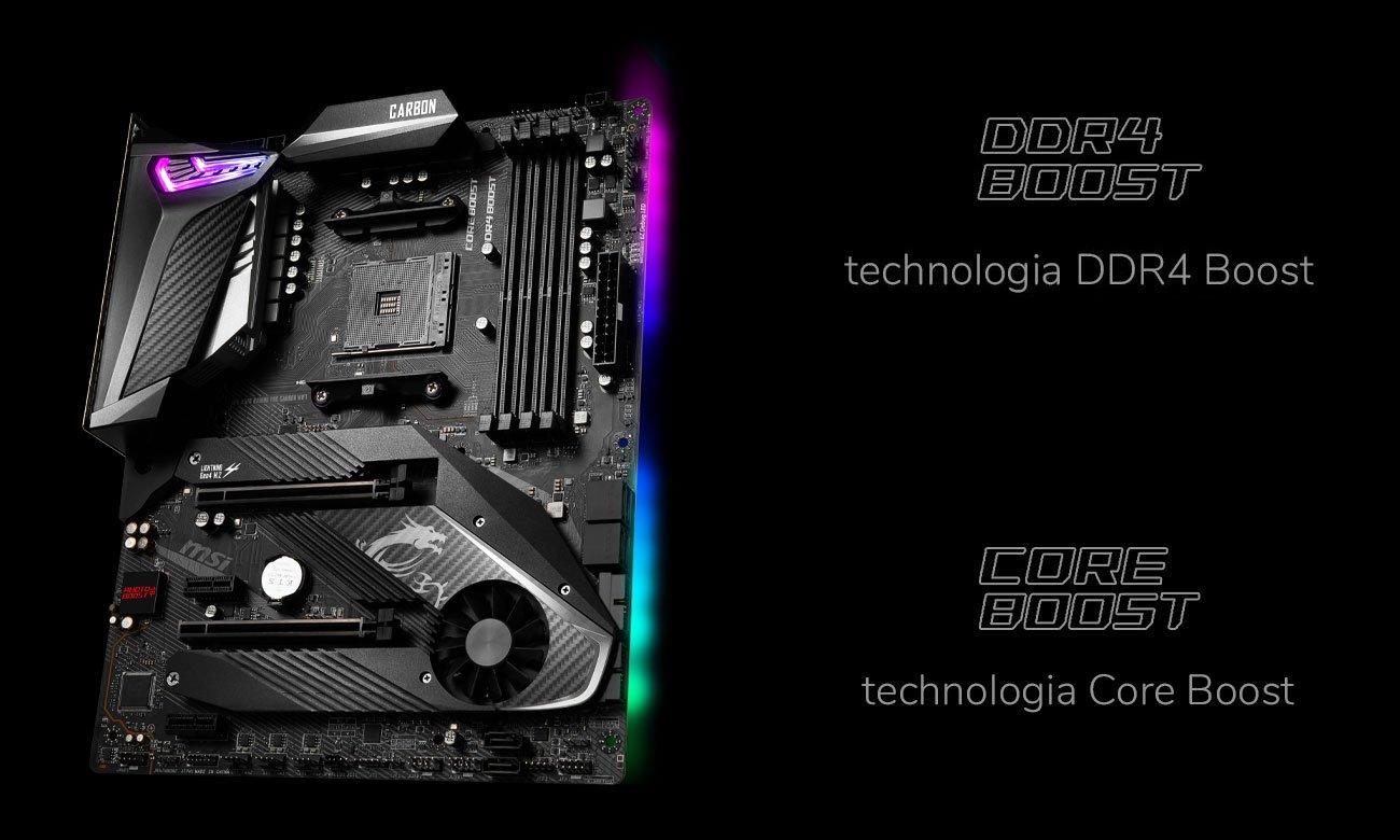 MSI MPG X570 GAMING PRO CARBON WIFI - Wydajnośc