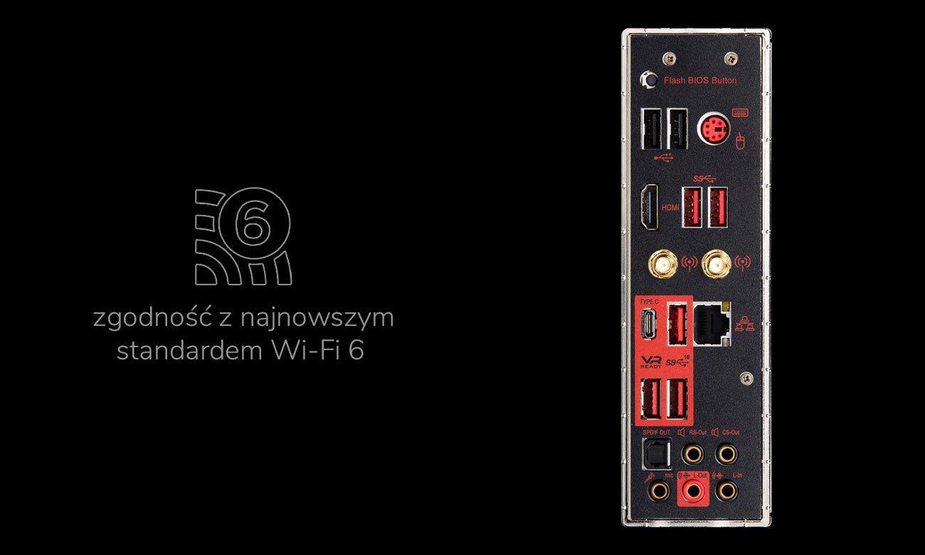MSI MPG X570 GAMING PRO CARBON WIFI - Łączność Wi-Fi