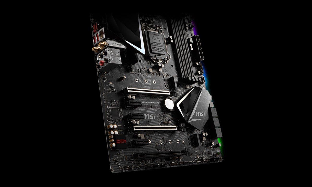 MSI MPG Z390 GAMING EDGE AC Dźwięk Audio Boost 4