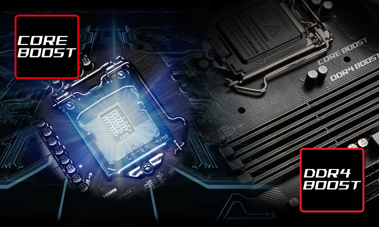 MSI MPG Z390 GAMING PLUS Wydajność
