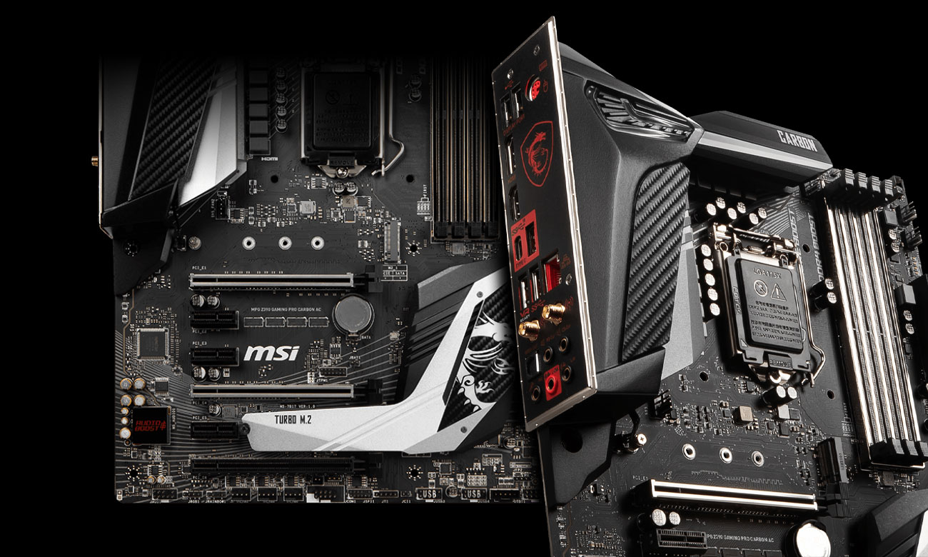 MSI MPG Z390 GAMING PRO CARBON AC Dźwięk Audio