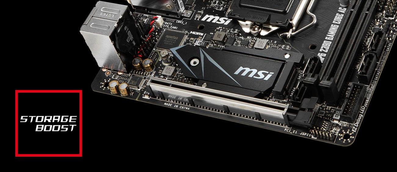 MSI MPG Z390I GAMING EDGE AC Turbo M.2
