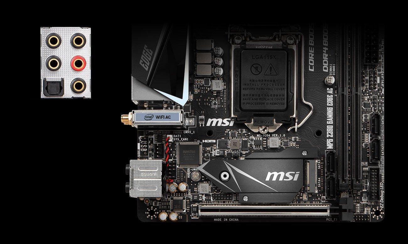 MSI MPG Z390I GAMING EDGE AC Audio Boost