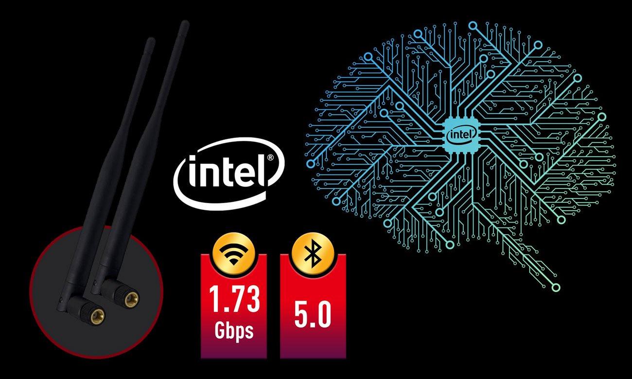 MSI MPG Z390M GAMING EDGE AC Łączność WiFi i LAN
