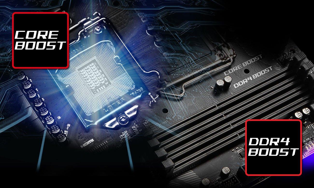 MSI MPG Z390M GAMING EDGE AC Wydajność