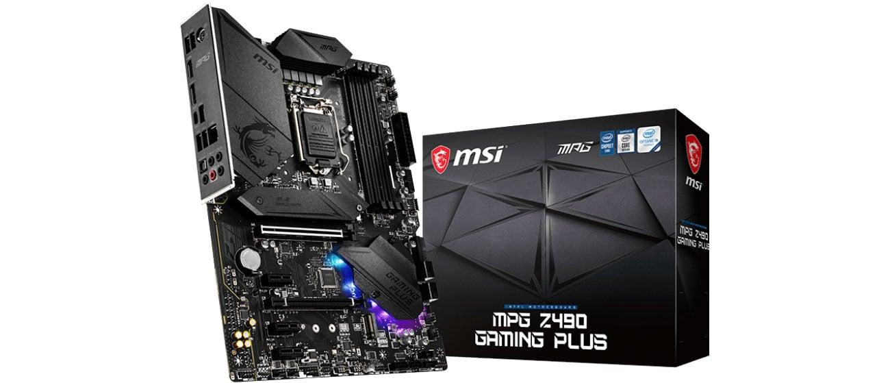 MSI MPG Z490 GAMING PLUS - Płyta główna