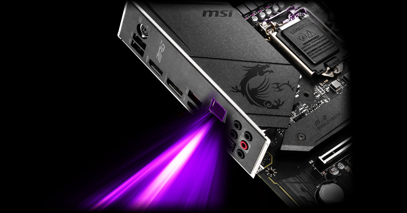 MSI MPG Z490 GAMING PLUS - Złącze LAN