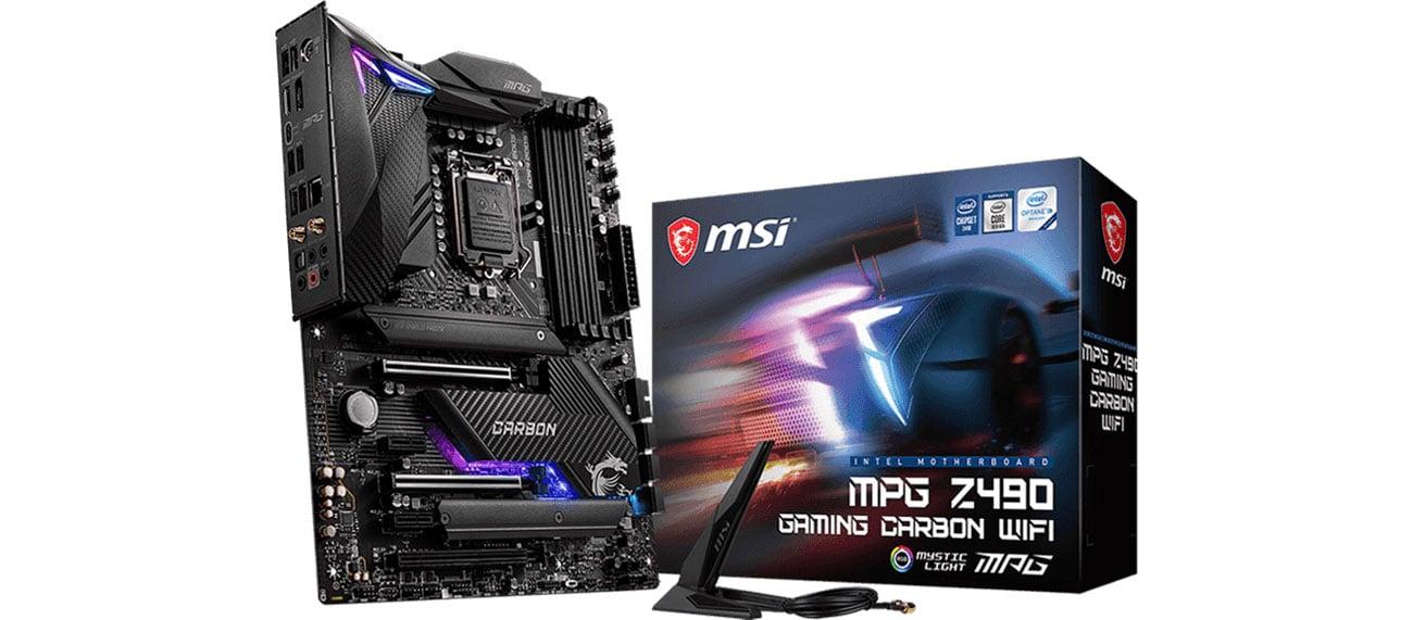 MSI MPG Z490 GAMING PRO CARBON WIFI - Płyta główna