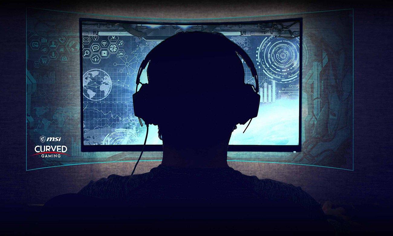 Monitor gamingowy MSI Optix MPG341CQR Curved