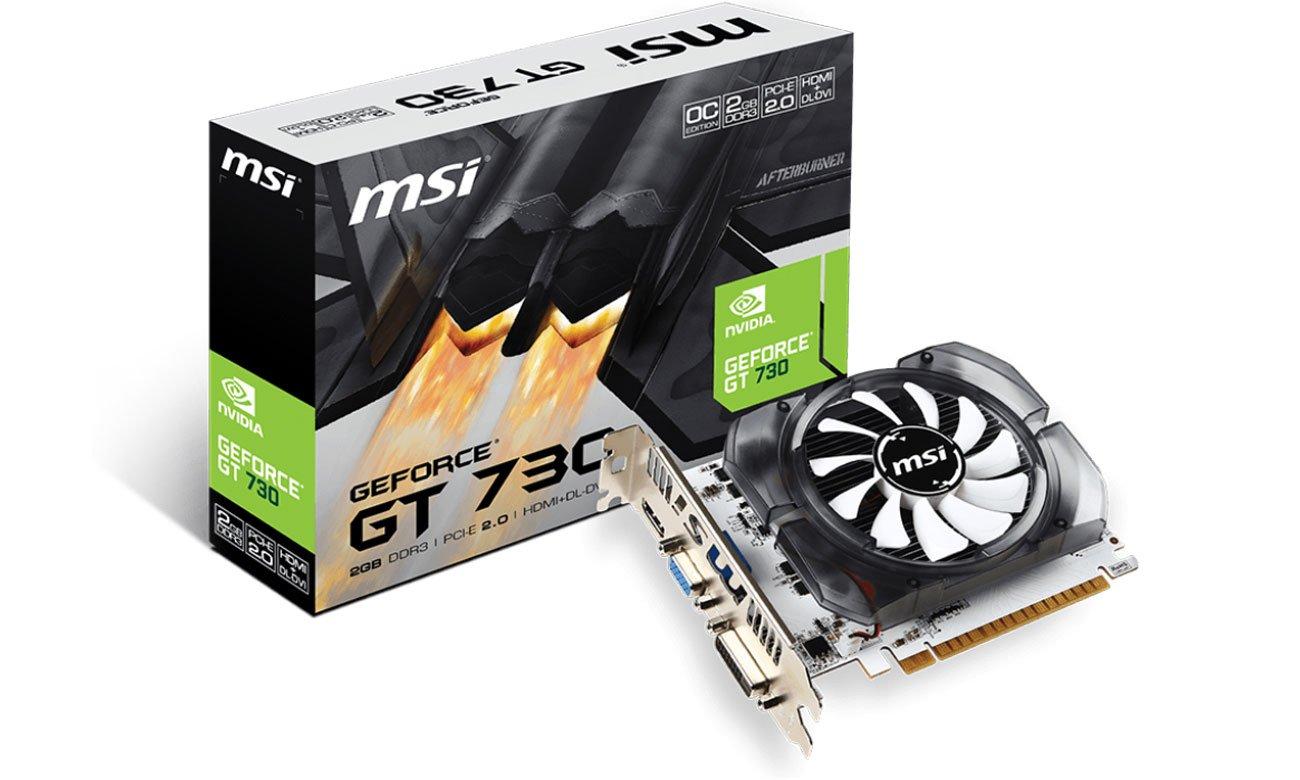 Karta graficzna MSI GeForce GT 730 OC V1