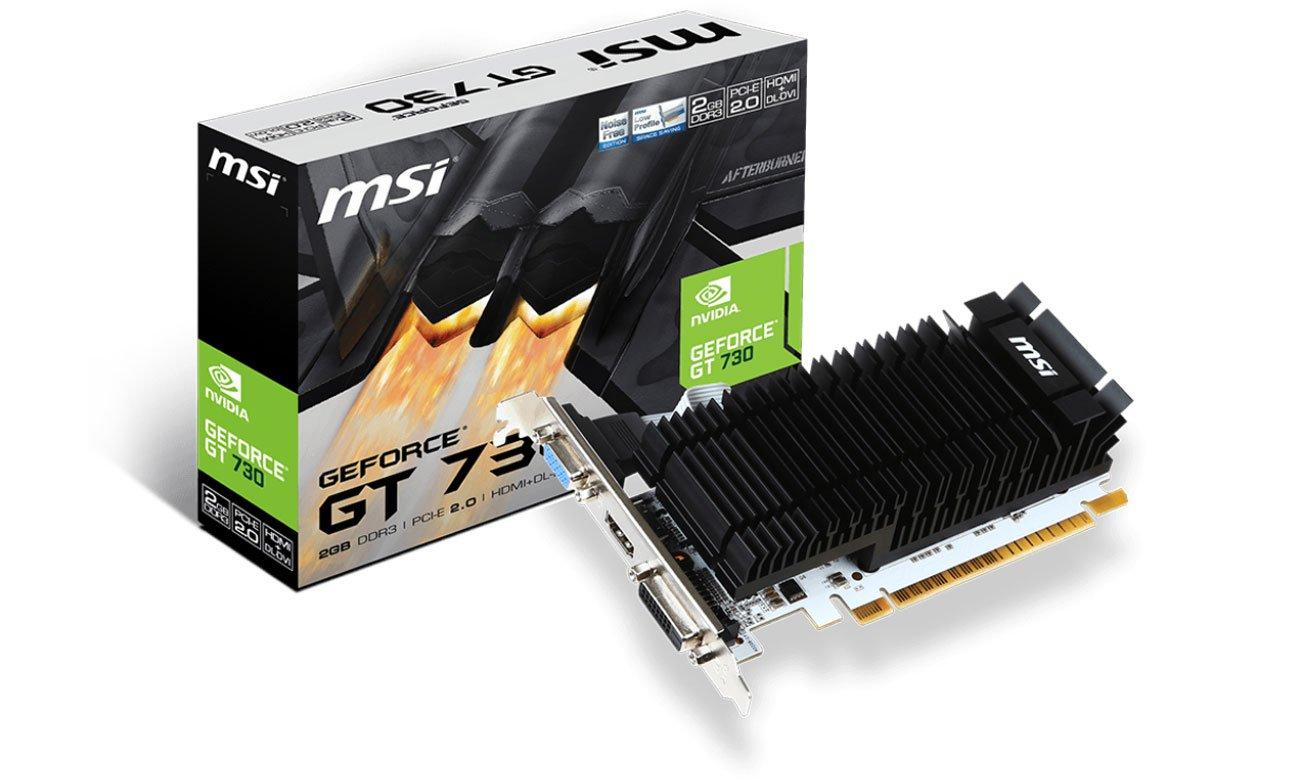 MSI GeForce GT 730 Low Profile