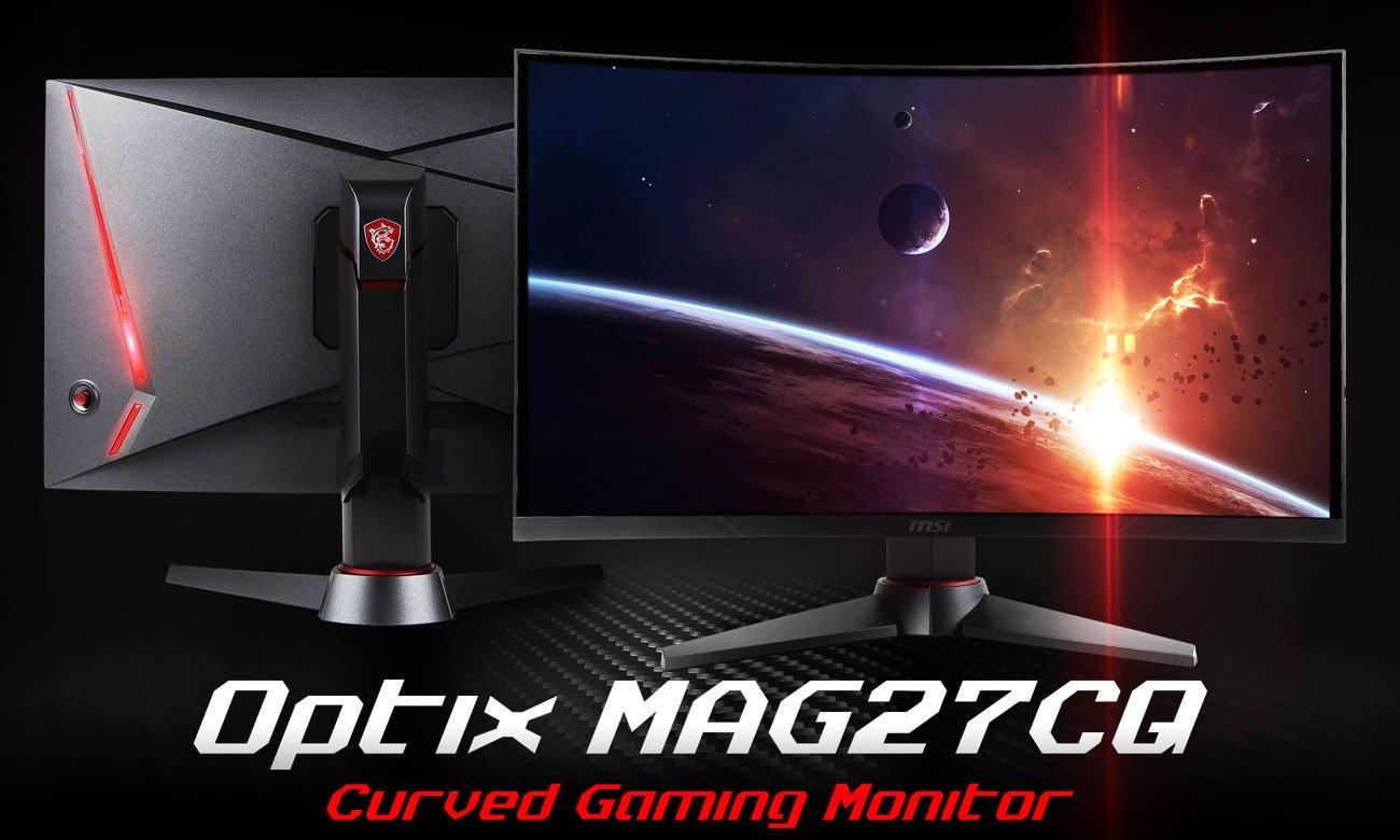 MSI Optix MAG27CQ Curved Zakrzywiony monitor gamingowy