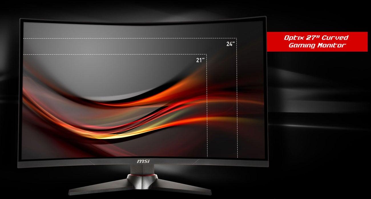 MSI Optix MAG27CQ Curved Ekran o przekątnej 27 cali
