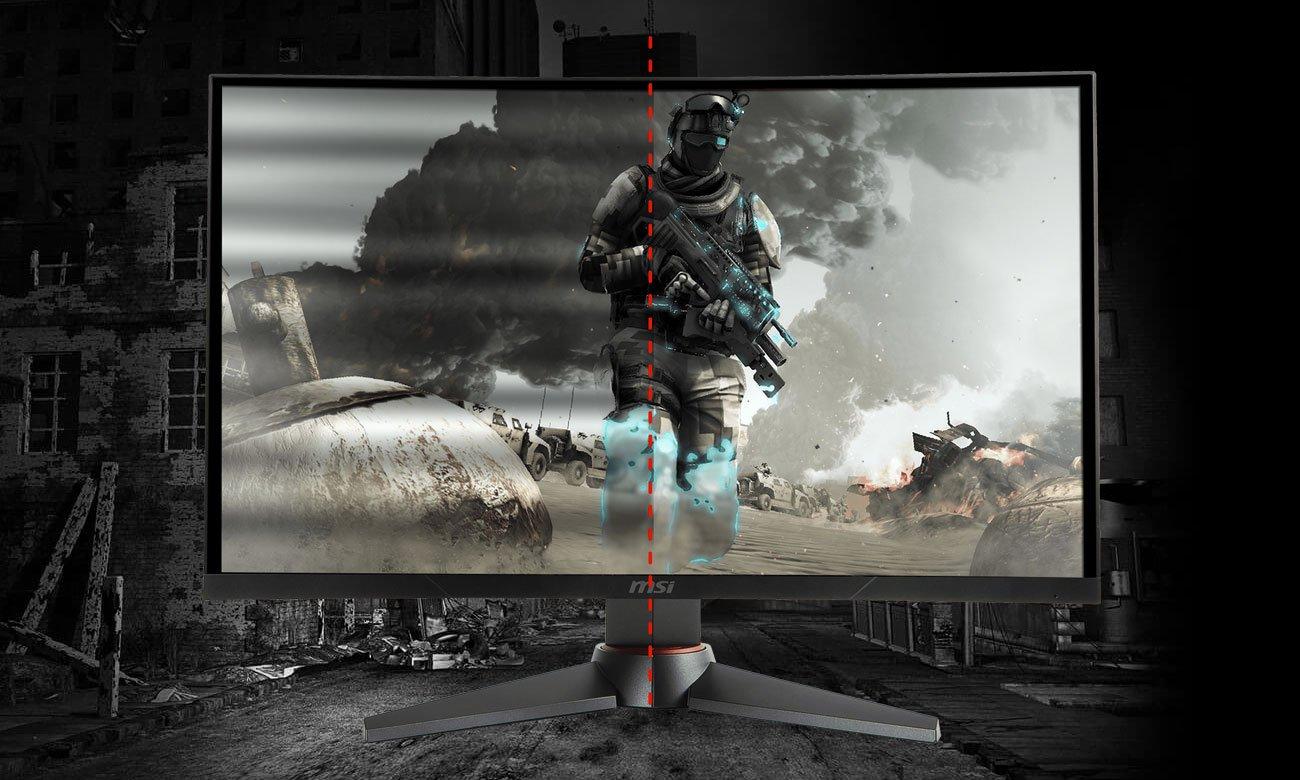 MSI Optix MAG27CQ Curved Technologia Anti-flicker, Redukcja niebieskiego światła
