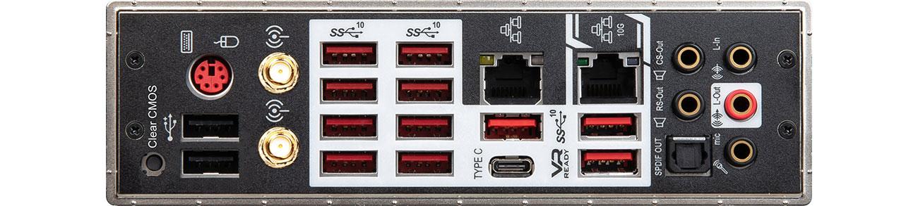 MSI PRESTIGE X570 CREATION Złącza