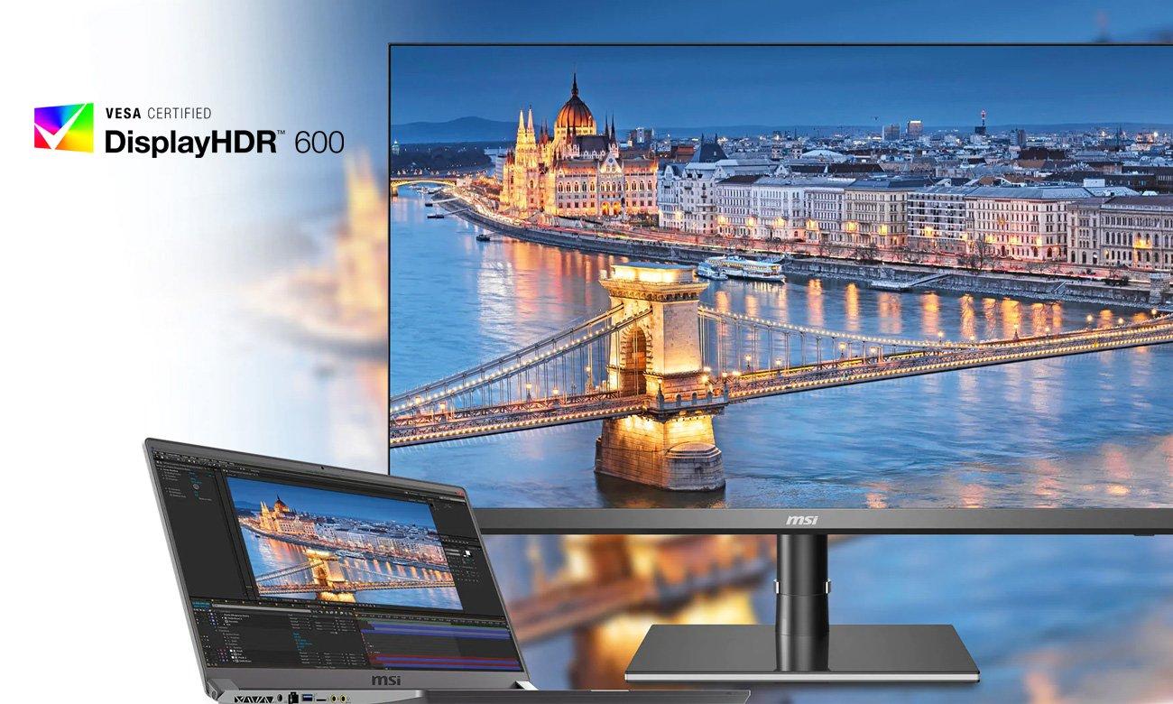 Monitor do grafiki i fotografii MSI Creator PS321QR