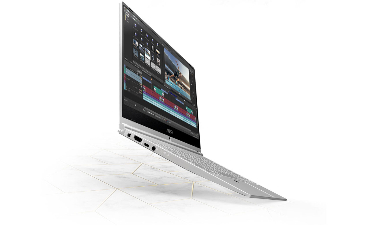 MSI PS42 8RB Perfekcyjny obraz z NVIDIA GeForce MX250