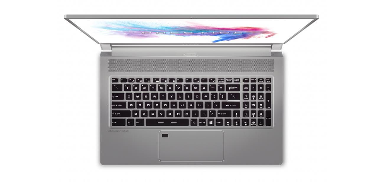 Krajobraz laptop MSI