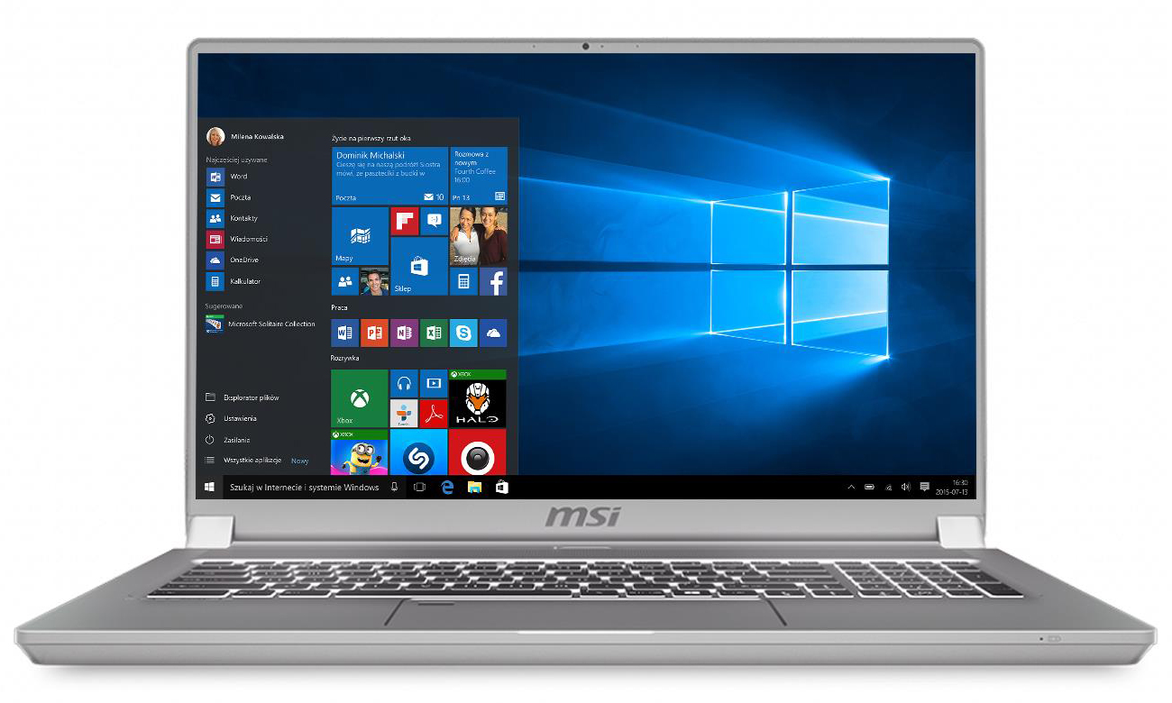 Laptop Notebook MSI PS42