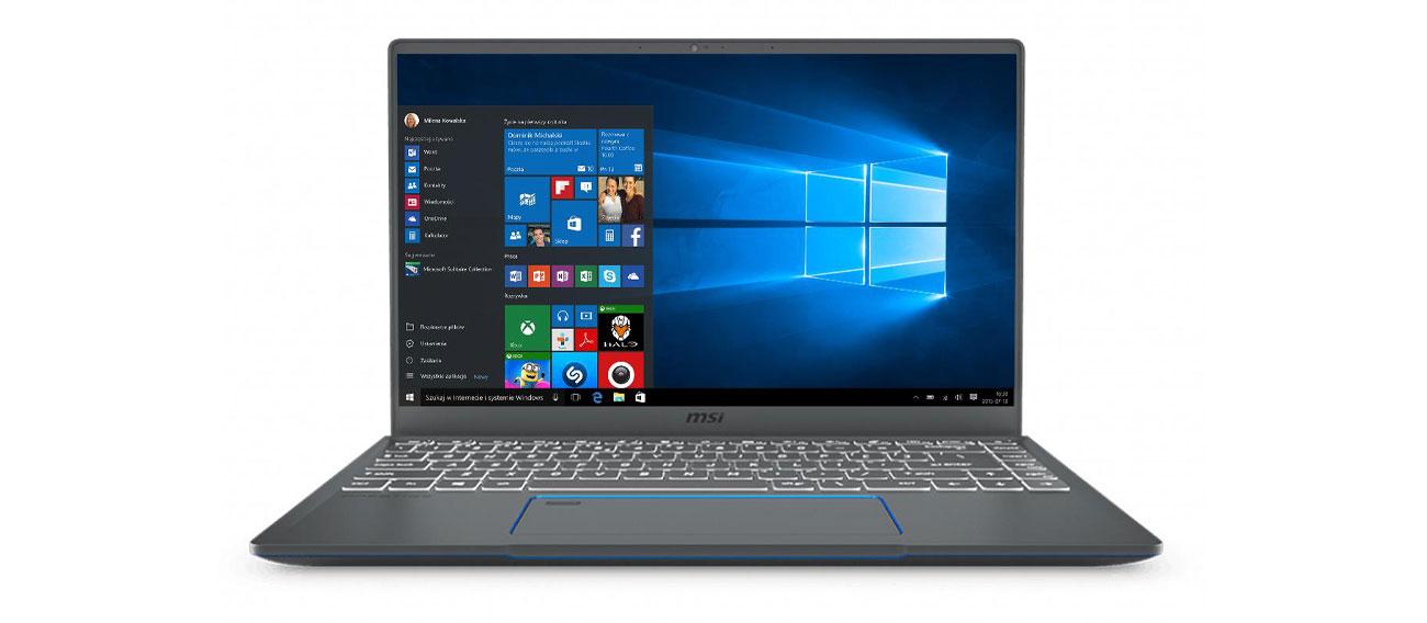Ultramobilny laptop MSI Prestige 14