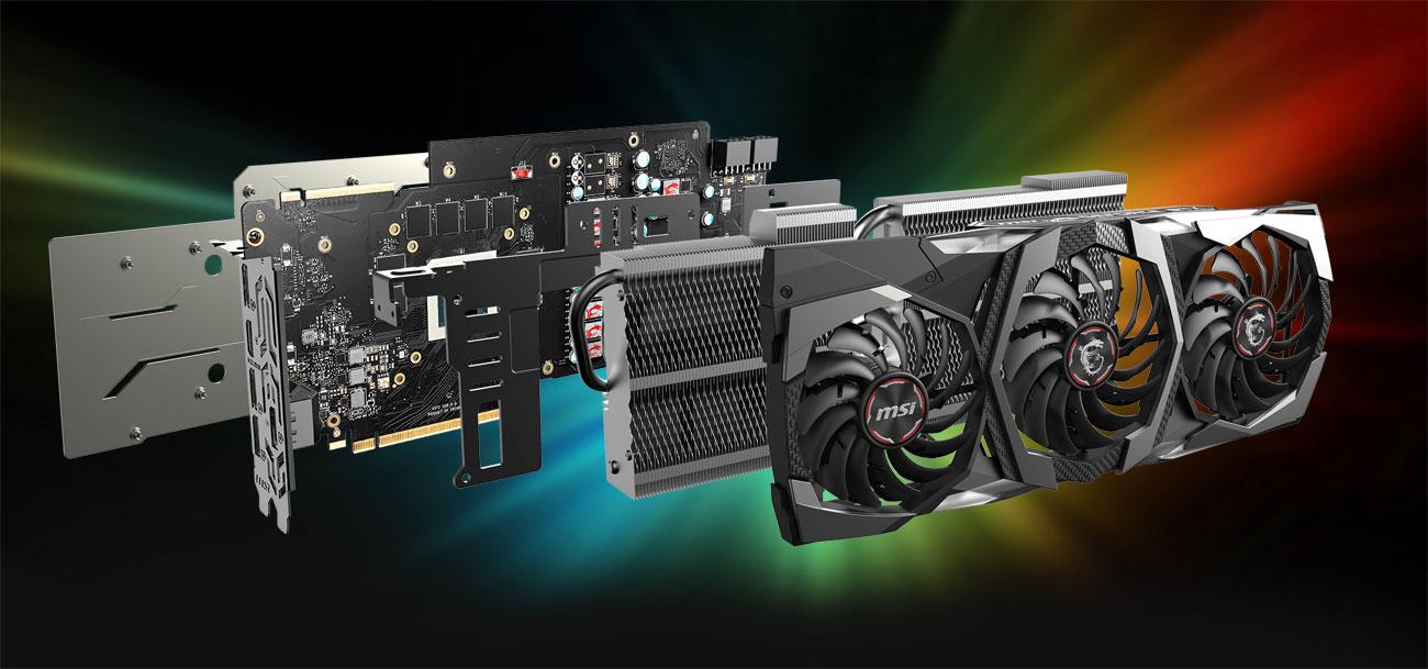 MSI Geforce RTX 2070 SUPER GAMING Z TRIO 8GB - Chłodzenie